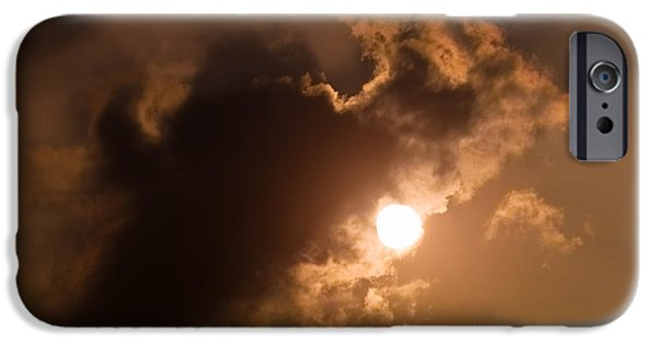 Design iPhone Cases - Hiding Behind The Clouds iPhone Case by Wim Lanclus