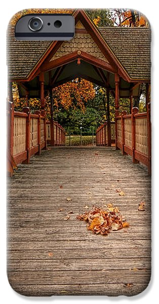 Into the autumn iPhone Case by Lourry Legarde