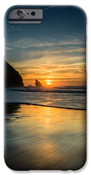 Into The Blue II iPhone Case by Marco Oliveira