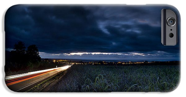 Traffic iPhone Cases - Into The Cane Fields iPhone Case by Sean Davey