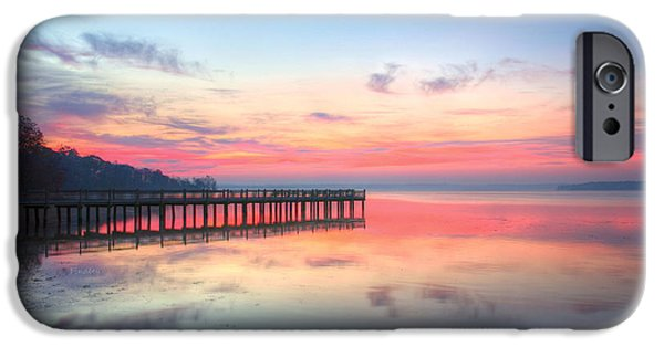 Chesapeake iPhone Cases - Into the Chesapeake  iPhone Case by JC Findley