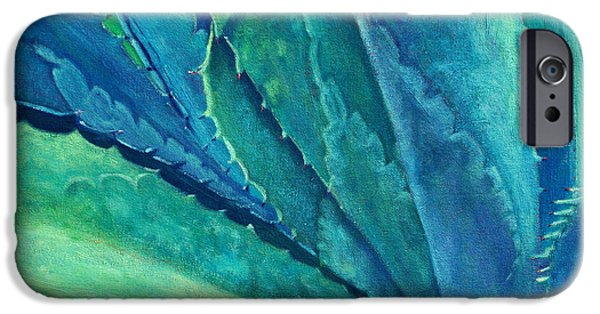 Southwestern iPhone Cases - Into the Deep iPhone Case by Athena Mantle