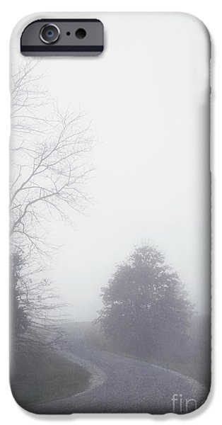 Into the Fog iPhone Case by Kay Pickens