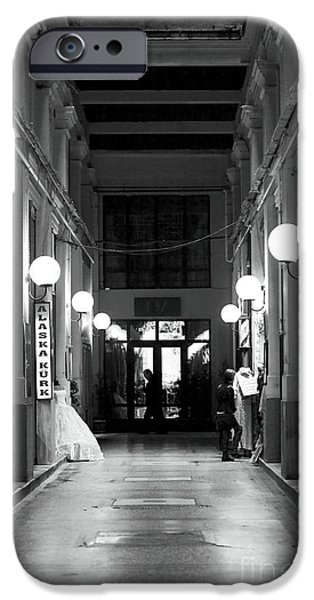 Monotone iPhone Cases - Into the Lights iPhone Case by John Rizzuto