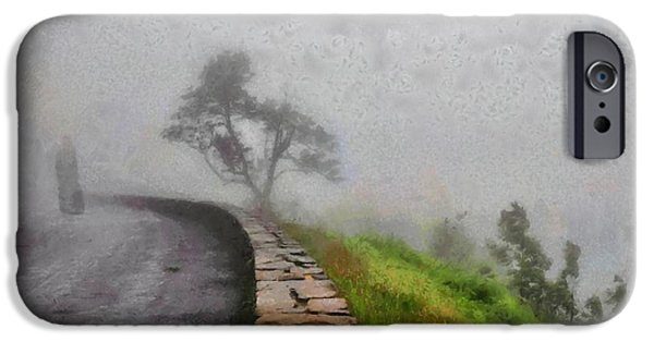 Going Green iPhone Cases - Into the mist iPhone Case by Gun Legler