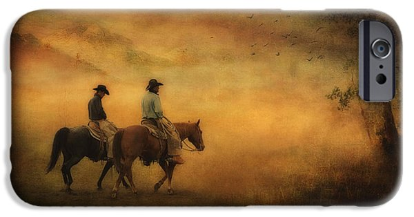 The Horse iPhone Cases - Into the Mist iPhone Case by Priscilla Burgers