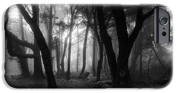Mystic Setting Photographs iPhone Cases - Into The Mystic iPhone Case by Marco Oliveira