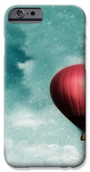 Into the Night iPhone Case by Amy Tyler