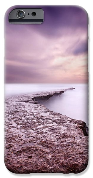 Waterscape iPhone Cases - Into the ocean iPhone Case by Jorge Maia