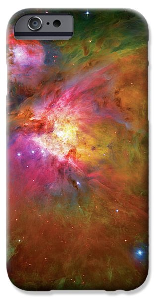 Into the Orion Nebula iPhone Case by The  Vault - Jennifer Rondinelli Reilly