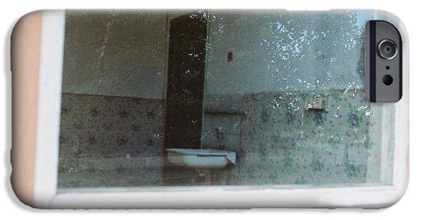 Old Bus Stations Photographs iPhone Cases - Into the past iPhone Case by Jonas Leonas