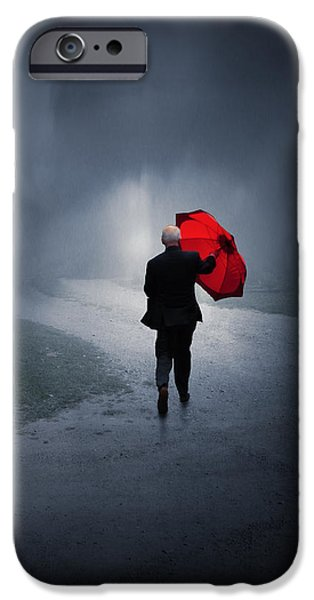 Storm iPhone Cases - Into the Storm iPhone Case by Jennifer Woodward