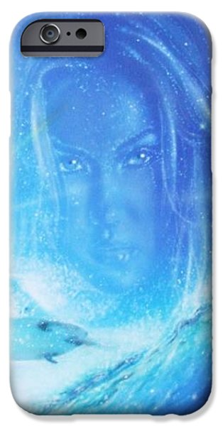 'Into the Void' iPhone Case by Christian Chapman Art