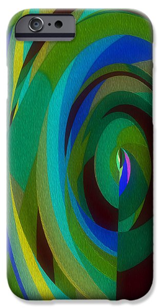 The Void iPhone Cases - Into the Void iPhone Case by Mary Machare