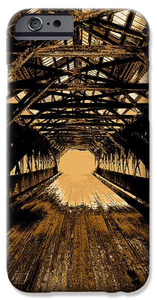 The Void iPhone Cases - Into the Void iPhone Case by Mike Greco