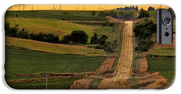 Recently Sold -  - Agriculture iPhone Cases - Into the Wind iPhone Case by Nikolyn McDonald