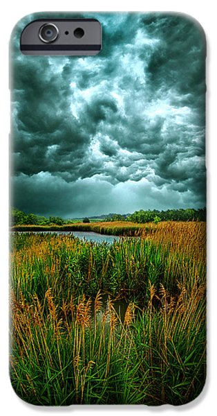 Storm iPhone Cases - Into the Wind iPhone Case by Phil Koch