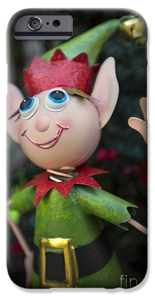 Xmas iPhone Cases - Introduce Yours-ELF iPhone Case by Evelina Kremsdorf