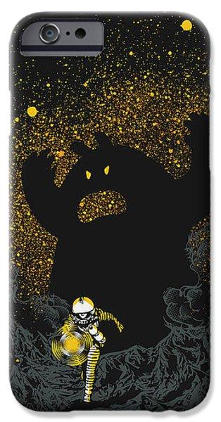 Intruder iPhone Case by Budi Satria Kwan