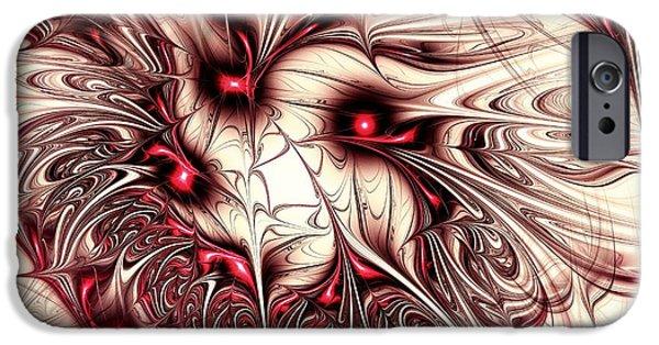 Penetration iPhone Cases - Invasion iPhone Case by Anastasiya Malakhova