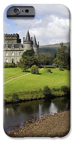 Inveraray Castle - D002464 iPhone Case by Daniel Dempster