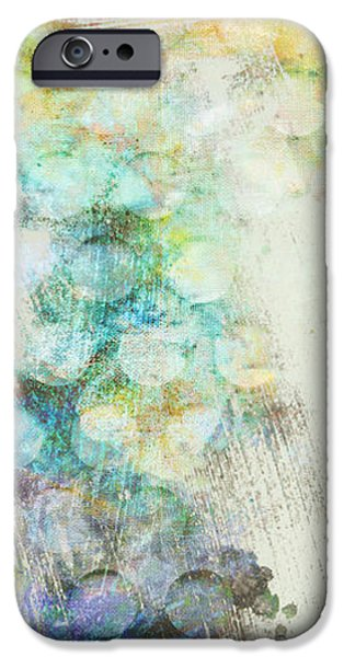 Inversion abstract art iPhone Case by Ann Powell