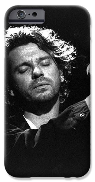 INXS-Michael-GP04 iPhone Case by Timothy Bischoff