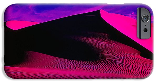 Colorful Abstract iPhone Cases - IR Dune 1 iPhone Case by Bill Caldwell -        ABeautifulSky Photography
