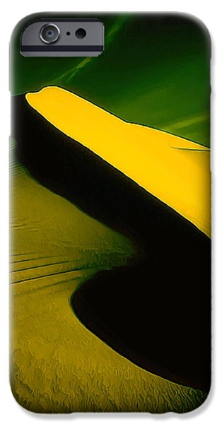 Modern Abstract iPhone Cases - IR Dune 2 iPhone Case by Bill Caldwell -        ABeautifulSky Photography