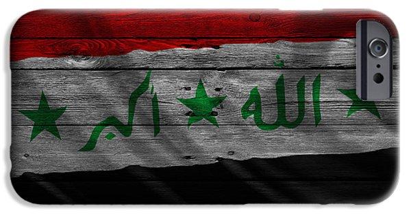 Iraq iPhone Cases - Iraq iPhone Case by Joe Hamilton