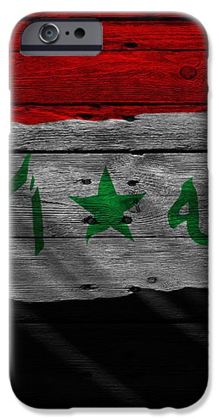 IRAQ iPhone Case by Joe Hamilton
