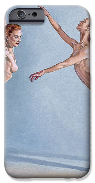 Irina Dancing iPhone Case by Paul Krapf