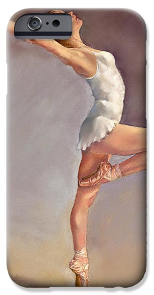 Ballet Dancers iPhone Cases - Irina iPhone Case by Margaret Merry