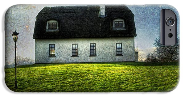 Structural iPhone Cases - Irish Thatched Roofed Home iPhone Case by Juli Scalzi