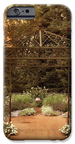 Iron Entrance iPhone Case by Jessica Jenney
