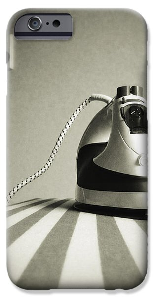 Iron iPhone Case by Les Cunliffe