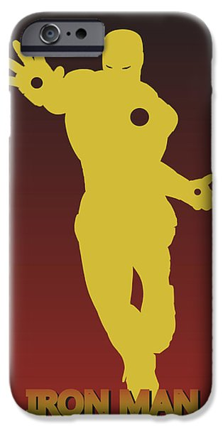 Thor iPhone Cases - Iron Man 2 iPhone Case by Joe Hamilton