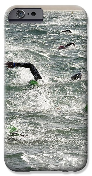 Ironman 2012 Sheer Determination iPhone Case by Bob Christopher