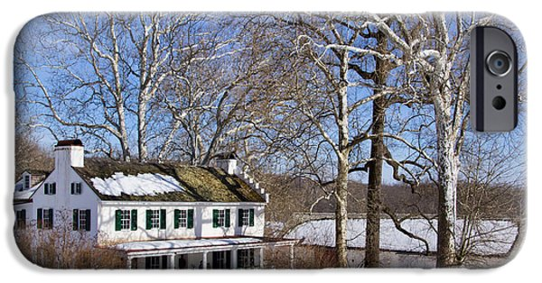 Restored Plantation iPhone Cases - Ironmasters house iPhone Case by Carolyn Derstine