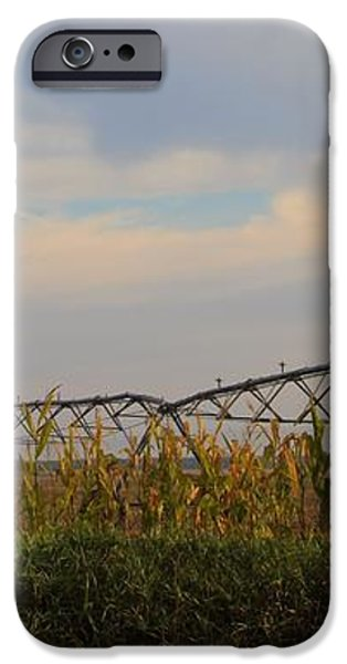 Irrigation On The Farm iPhone Case by Dan Sproul