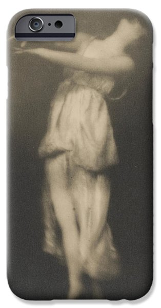 Moving iPhone Cases - Isadora Duncan   Dancer iPhone Case by Arnold Genthe