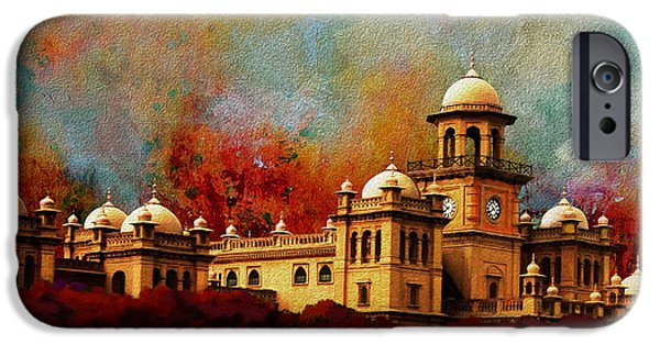 Pakistan iPhone Cases - Islamia College Lahore iPhone Case by Catf