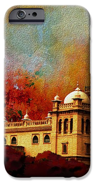 Islamia College Lahore iPhone Case by Catf