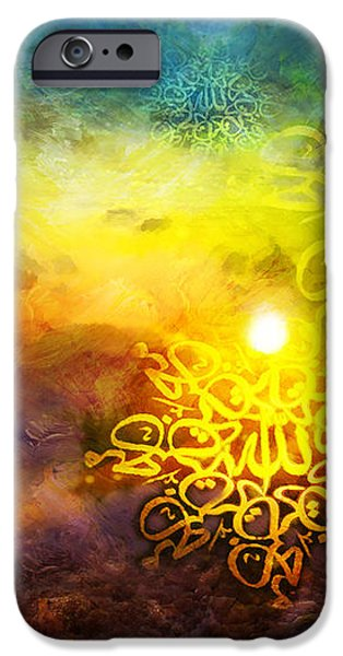 Islamic Calligraphy 020 iPhone Case by Catf