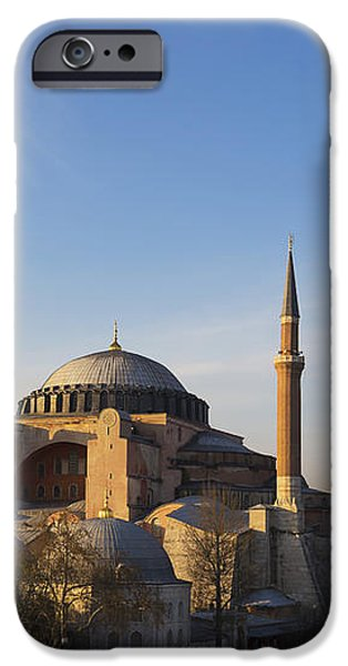 Islamic Mosque At Sunset Istanbul iPhone Case by Mark Thomas