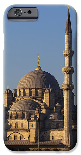 Islamic Mosque Istanbul, Turkey iPhone Case by Mark Thomas