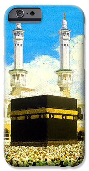 Islamic Painting 006 iPhone Case by Catf