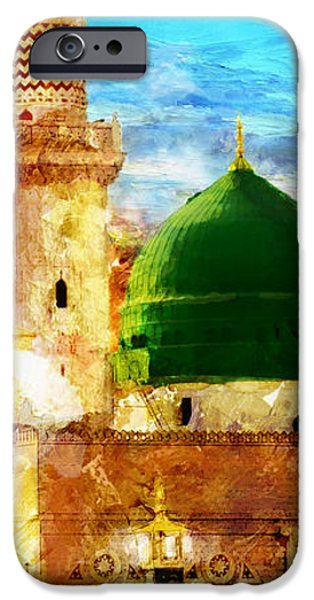 Islamic Paintings 005 iPhone Case by Catf