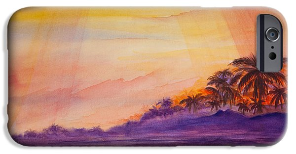 Michelle iPhone Cases - Islamorada Sunset iPhone Case by Michelle Wiarda