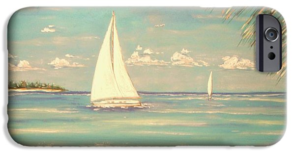 Sailing Pastels iPhone Cases - Island Dreamer iPhone Case by The Beach  Dreamer